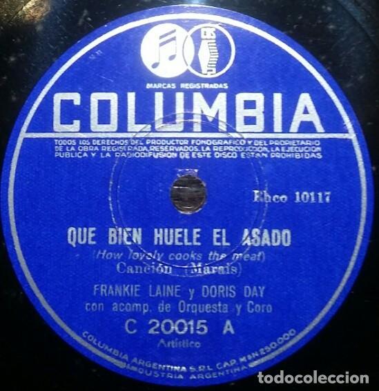 Discos de pizarra: DISCOS 78 RPM - DORIS DAY - ALBUM - 3 DISCOS - ORQUESTA - FRANKIE LAINE - JAZZ - PIZARRA - Foto 2 - 126842479