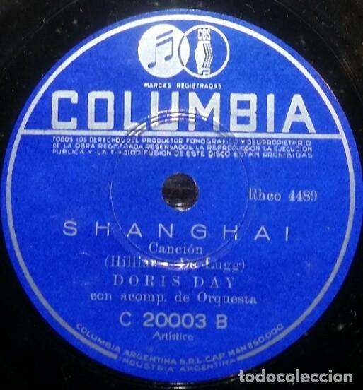 Discos de pizarra: DISCOS 78 RPM - DORIS DAY - ALBUM - 3 DISCOS - ORQUESTA - FRANKIE LAINE - JAZZ - PIZARRA - Foto 4 - 126842479