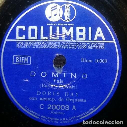Discos de pizarra: DISCOS 78 RPM - DORIS DAY - ALBUM - 3 DISCOS - ORQUESTA - FRANKIE LAINE - JAZZ - PIZARRA - Foto 5 - 126842479