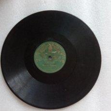 Discos de pizarra: DISCO PIZARRA LA MARSELLESA Y MARCHA LORENA POR LA BANDA ODEON MUY RARO. Lote 126881559