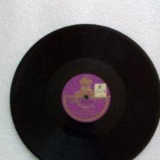 Discos de pizarra: DISCO PIZARRA CARLITOS GARDEL PIEDAD TRENZAS NEGRAS TANGO ODEON. Lote 126883791
