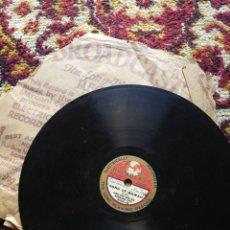 Discos de pizarra: DISCO GRAMÓFONO BROADCAST- KIMO KOA & HIS HAWAIIAN TRIO- A HULA DREAM/ SONG OF HAWAII.FORMATO SINGLE. Lote 127103106