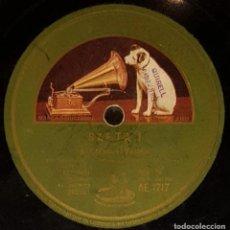 Discos de pizarra: DISCOS 78 RPM - MANUEL VALLEJO - MIGUEL BORRULL - GUITARRA - FIESTA GITANA - SAETA - PIZARRA. Lote 128096055