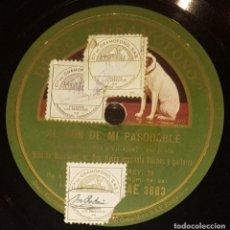 Discos de pizarra: DISCOS 78 RPM - NIÑO DE MARCHENA - RAFAEL NOGALES - GUITARRA - FANDANGOS - PIZARRA. Lote 128102871