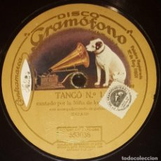 Shellac Records - DISCOS 78 RPM - NIÑA DE LOS PEINES - GUITARRA - TANGO - PIZARRA - 128104427