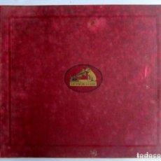 Discos de pizarra: BEETHOVEN ALBUM CON 12 DISCOS LA VOZ DE SU AMO. SINFONÍA Nº 9 Y SINFONÍA Nº 5. ÁLBUM DESLUCIDO PO. Lote 128376355