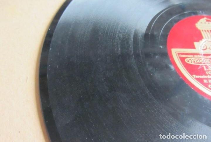 Discos de pizarra: ALBUM. LA GRAN VIA. DIR. A. CAPDEVILA. AMPARO SAUS - MARCOS REDONDO.ODEON. ÁLBUM CON 3 DISCOS. C - Foto 5 - 128376955