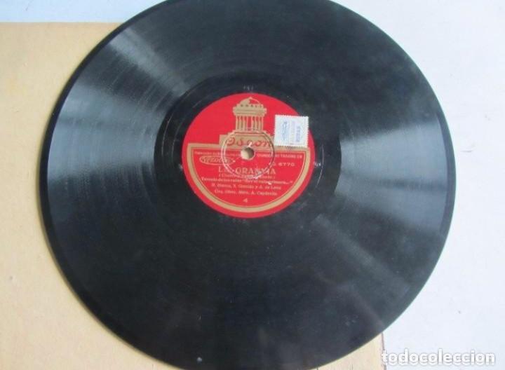 Discos de pizarra: ALBUM. LA GRAN VIA. DIR. A. CAPDEVILA. AMPARO SAUS - MARCOS REDONDO.ODEON. ÁLBUM CON 3 DISCOS. C - Foto 6 - 128376955