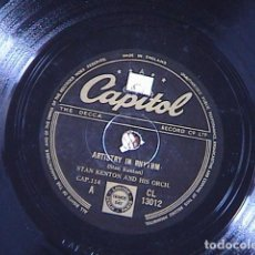 Discos de pizarra: ARTISTRY IN RHYTHM./ ARTISTRY IN BOOGIE. STAN KENTON AND HIS ORCHL.. Lote 128408747