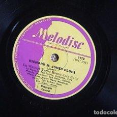Discos de pizarra: SOUTH / RICHARD M. JONES BLUES. LUE WATTERS YERBA BUENA JAZZ BAND.. Lote 128410459