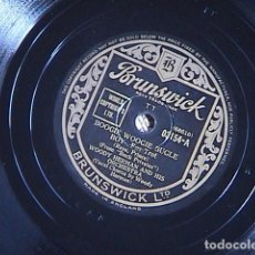 Discos de pizarra: BOUNCE ME , BROTHER, WITH A SOLID FOUR. BOOGIE WOOGIE BUGLE. WOODY HERMAN AND HIS ORCH.. Lote 128411275