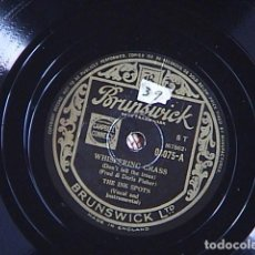 Discos de pizarra: WHISFERING GRASS / MAYBE. THE INK SPOTS.. Lote 128416479