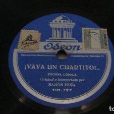 Dischi in gommalacca: RAMON PEÑA - ¡ VAYA UN CUARTITO ! / UNA AVENTURA EN PARIS - RAMON PEÑA. Lote 128504463