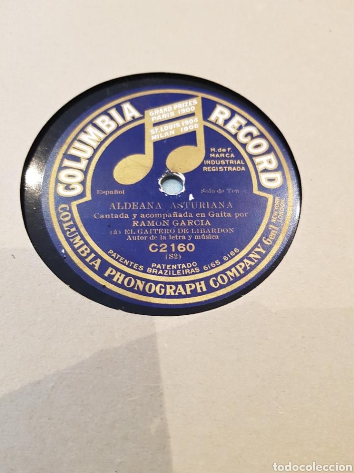 Discos de pizarra: DISCOS 78 RPM ASTURIAS FLOLKLORE REGIONAL - Foto 2 - 128707126