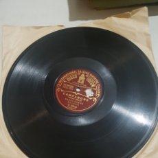 Discos de pizarra: DISCO GRAMOFONO. Lote 128724492
