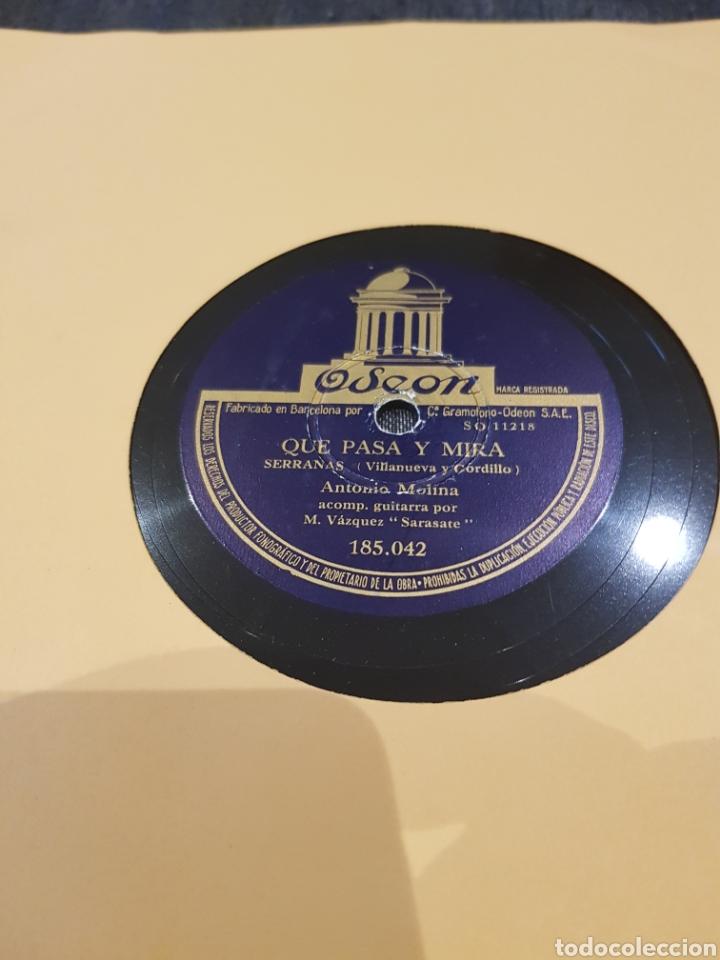 Discos de pizarra: DISCOS 78 RPM ANTONIO MOLINA - Foto 2 - 129255971
