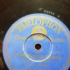Discos de pizarra: DISCOS 78 RPM CANCION MONTAÑESA. Lote 129281883