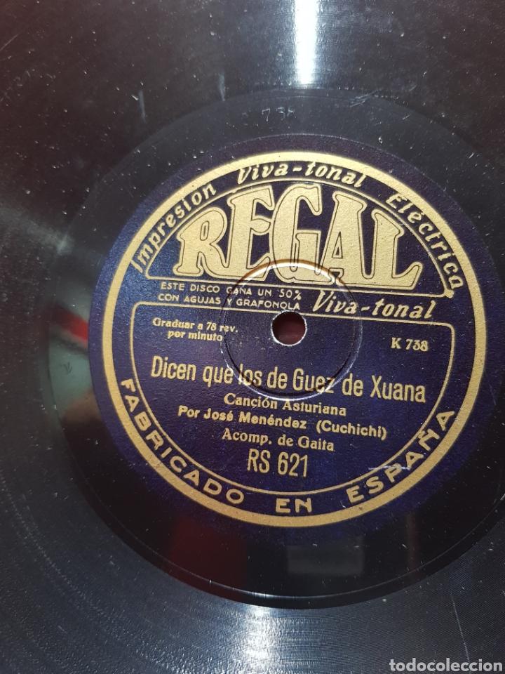 DISCOS 78 RPM GAITA ASTURIAS (Música - Discos - Pizarra - Flamenco, Canción española y Cuplé)
