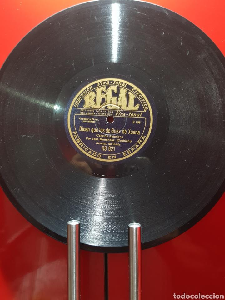 Discos de pizarra: DISCOS 78 RPM GAITA ASTURIAS - Foto 2 - 129283826