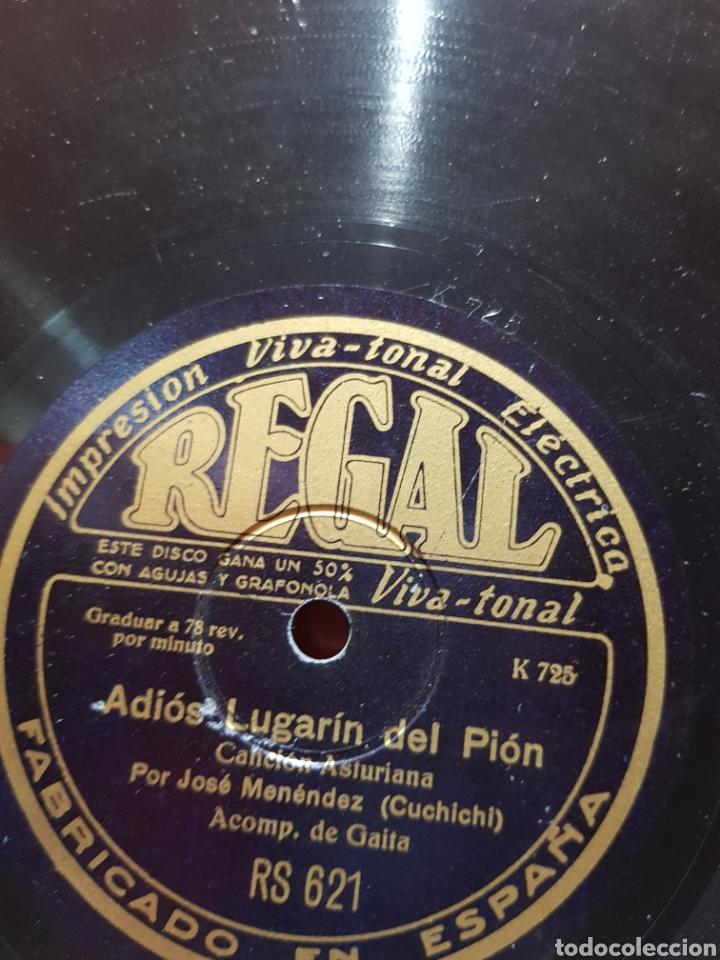 Discos de pizarra: DISCOS 78 RPM GAITA ASTURIAS - Foto 3 - 129283826