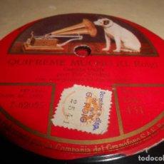 Discos de pizarra: TITO SCHIPA ORQUESTA QUIEREME MUCHO/A LA ORILLA DE UN PALMAR 10 PULGADAS 25 CTMS GRAMOFONO DA 431 SP. Lote 130268518