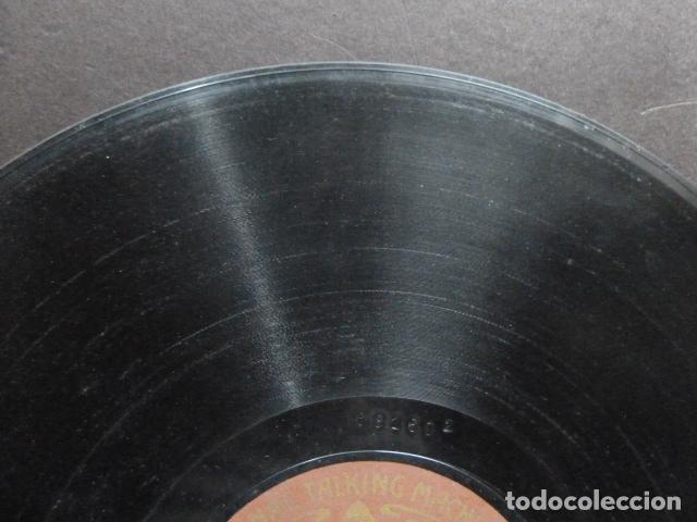 Discos de pizarra: EL TREN REAL - ESCENA IMITATIVA CON ACOMPAÑAMENTO DE ORQUESTA CORRIDA DE TOROS BANDA Y CLARINETE - Foto 6 - 131682918