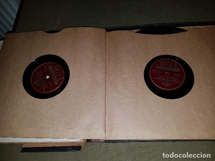 Discos de pizarra: Album original Decca ¨EL REY Y YO¨ Oscar Hammerstein, 1951 - Foto 6 - 132574590