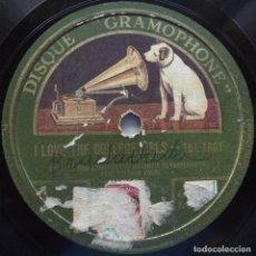 Discos de pizarra: I LOVE THE COLLEGE GIRLS, TOGHETHER, VALSE, WARING'S PENNSYLVANIANS, 10 PULGADAS, 78 RPM, LA VOZ DE . Lote 132920930
