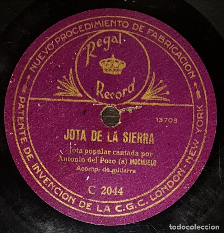 DISCOS 78 RPM - ANTONIO POZO EL MOCHUELO - GUITARRA - GAITA - JOTA DE LA SIERRA - PRAVIANA - PIZARRA (Música - Discos - Pizarra - Flamenco, Canción española y Cuplé)