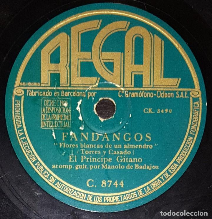 Discos de pizarra: DISCOS 78 RPM - EL PRÍNCIPE GITANO - MANOLO DE BADAJOZ - GUITARRA - SOLEARES - FANDANGOS - PIZARRA - Foto 2 - 133038518