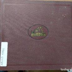 Discos de pizarra: ALBUM CON 9 DISCOS DE PIZARRA. VARIOS ESTILOS. Lote 133087702