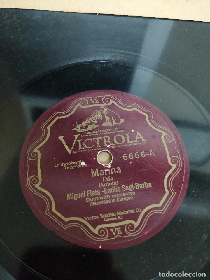 Discos de pizarra: Album con 9 discos de pizarra. Varios estilos - Foto 6 - 133088338