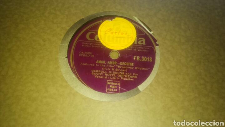 Discos de pizarra: Lote de 7 discos antiguos de pizarra con el álbum incluido. - Foto 3 - 133472590