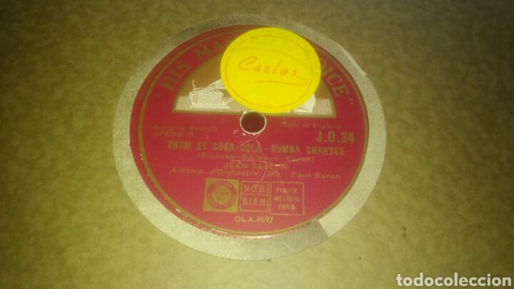 Discos de pizarra: Lote de 7 discos antiguos de pizarra con el álbum incluido. - Foto 4 - 133472590