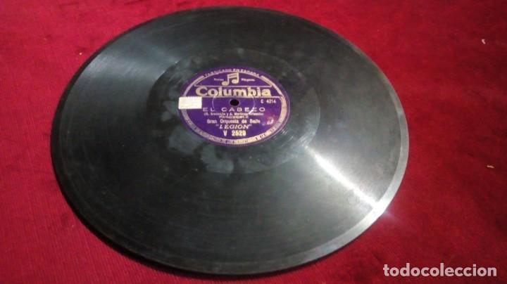 COLUMBIA - EL CABEZO/GUARICHERA (Música - Discos - Pizarra - Clásica, Ópera, Zarzuela y Marchas)