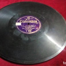 Discos de pizarra: COLUMBIA - EL CABEZO/GUARICHERA. Lote 133605714