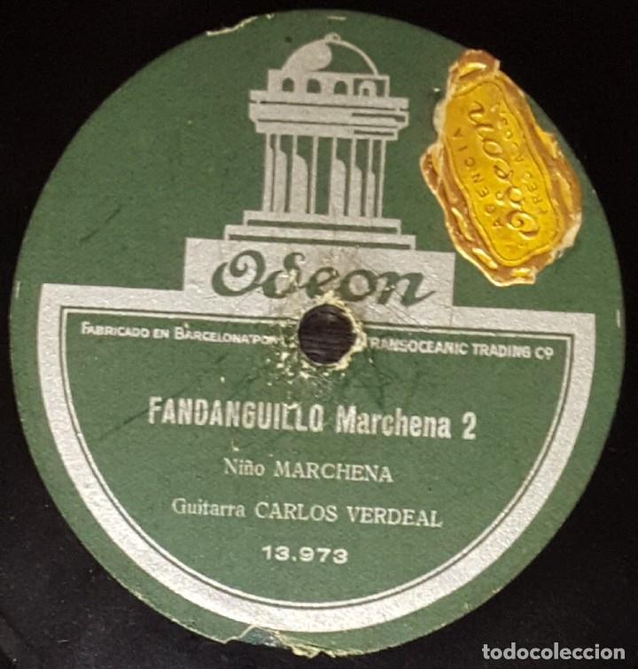 Discos de pizarra: DISCOS 78 RPM - NIÑO MARCHENA - CARLOS VERDEAL - GUITARRA - FANDANGUILLO MARCHENA - PIZARRA - Foto 2 - 133631438