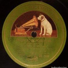 Shellac Records - DISCOS 78 RPM - NIÑO MARCHENA - RAMÓN MONTOYA - GUITARRA - TARANTAS - SEGUIDILLAS - PIZARRA - 133632018