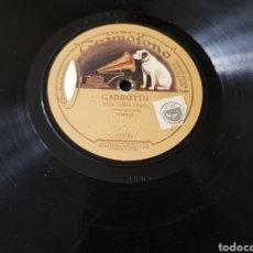 Discos de pizarra: DISCOS 78 RPM SRTA. LUISA LOPEZ. Lote 133933475