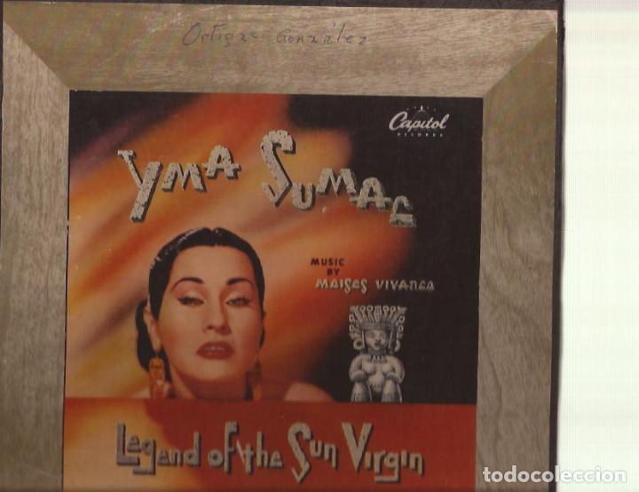 78RPM-YMA SUMAC LEGEND OF THE SUN VALLEY CAPITOL 299 BOX SET 4 SHELLAC USA 1952 PIZARRA (Música - Discos - Pizarra - Jazz, Blues, R&B, Soul y Gospel)