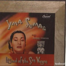 Discos de pizarra: 78RPM-YMA SUMAC LEGEND OF THE SUN VALLEY CAPITOL 299 BOX SET 4 SHELLAC USA 1952 PIZARRA. Lote 133996818