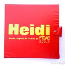 Discos de pizarra: COLECCIÓN DE DISCOS DE HEIDI.. Lote 134060838