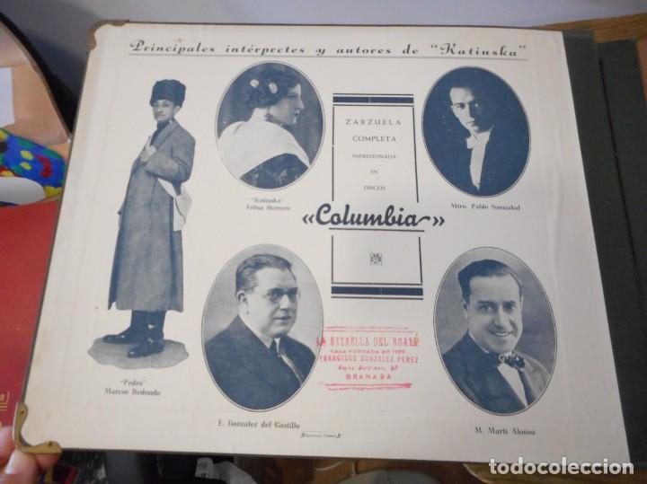 Discos de pizarra: Katiuska. Colección de 7 discos de pizarra - Foto 2 - 134162526