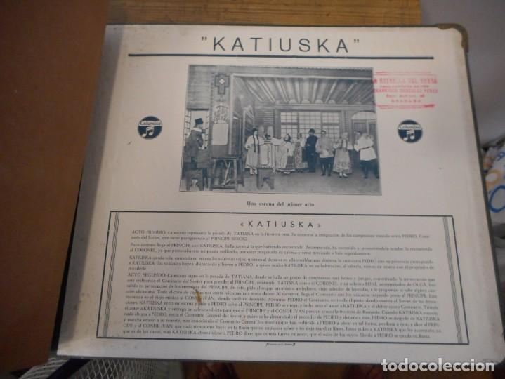 Discos de pizarra: Katiuska. Colección de 7 discos de pizarra - Foto 10 - 134162526