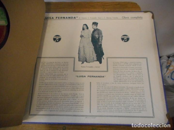 Discos de pizarra: Luisa Fernanda. Comedia lírica - Foto 9 - 134163022