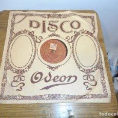 Discos de pizarra: DISCO DE PIZARRA EL CARRO DEL SOL. Lote 134166570