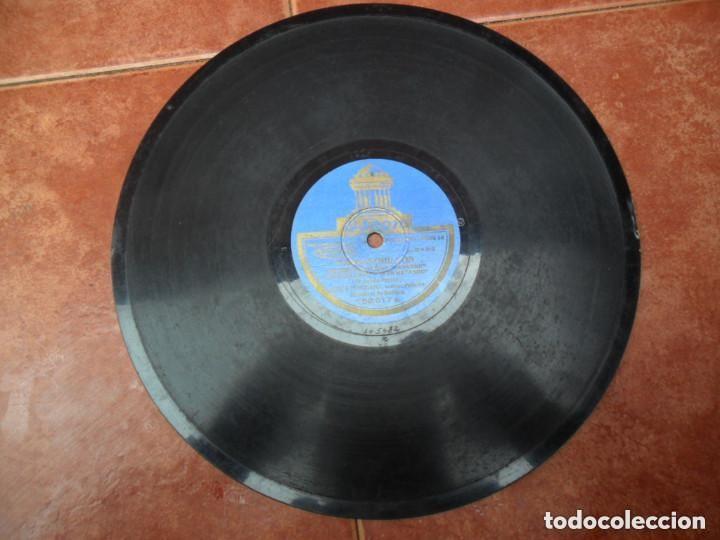 DISCO PIZARRA ODEON - FANDANGUILLO - MILONGAS (Música - Discos - Pizarra - Flamenco, Canción española y Cuplé)