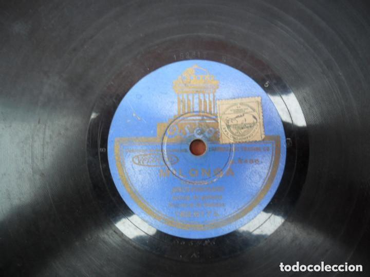 Discos de pizarra: DISCO PIZARRA ODEON - FANDANGUILLO - MILONGAS - Foto 2 - 134934846