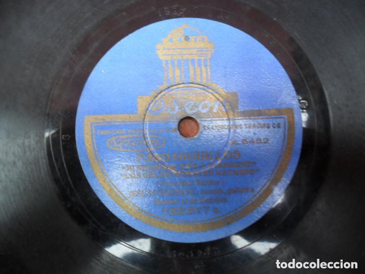 Discos de pizarra: DISCO PIZARRA ODEON - FANDANGUILLO - MILONGAS - Foto 3 - 134934846