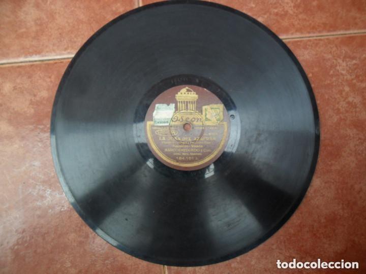 Discos de pizarra: DISCO PIZARRA - ODEON - LA ROSA DEL AZAFRAN - CANCIÓN DEL SEMBRADOR - MARCOS REDONDO Y CORO - Foto 3 - 135058906